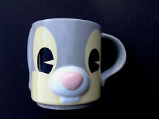 DISNEY STORE Mug 3D Bas Relief THUMPER Cup NEW