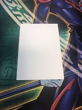 Yugioh! MISPRINT Blank White Both Sides BLAR Mint Battles of Legend Armegeddon