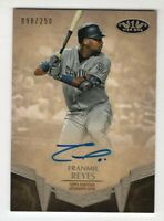 Franmil Reyes 2019 Topps Tier One Autographed #'d  /250 (San Diego Padres) NM