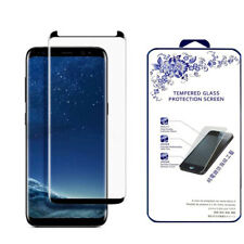 For Samsung Galaxy S9 3D Full Cover Tempered Glass Screen Protector -Black