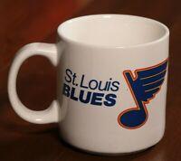 Vintage 80s St. Louis Blues 1988 Maxwell House Coffee Mug Night Cup Hockey NHL