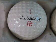 (1) TOM WEISKOPF SIGNATURE LOGO GOLF BALL ( MACGREGOR CIR 1967 / 1968) #1