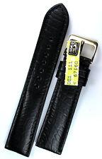 20mm LOUISIANA echt KROKO made GERMANY Graf ALLIGATOR Krokodil BAND Strap
