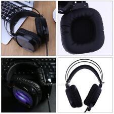 USB LED Wired Mega Bass 7.1 surround sound Gaming Headphone Headset Mic Laptop