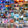 DIY Paint By Number Kit Digital Oil Painting Sea Landscape Scenery Home Decor