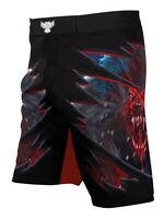 Raven Fightwear Men's The Lycan MMA Shorts Black