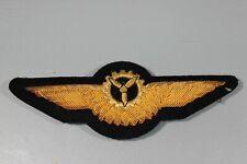 Post WW2 West German Bundeswehr Luftwaffe 1 Gold BULLION Mechanic Wings F134