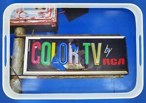 Bob's Your Uncle - Colour TV Melamine Serving Drink Tray Retro Vintage Style