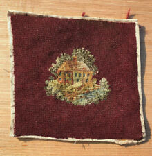 Vintage Home Sweet Home Needlework Victorian Cottage iNeedlepoint Art Sampler