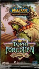 World of Warcraft TCG Tomb of the Forgotten Booster Pack