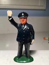 Vintage Barclay Lead Figure, B2-28  Policeman Officer Made In USA