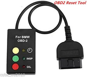 OBD2 OBDII Oil Service and Inspection Light Reset Tool For 2001-2006 BMW & MINI