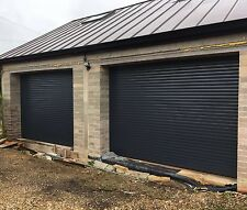 Ral 7016 Insulated Electric Rollerdor Garage Modern Installed Autoroll Up Supply