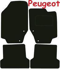 Tailored Deluxe Quality Car Mats Peugeot 307cc 2002-2007 ** Black ** Convertible