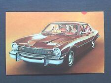 1975 FORD MAVERICK SEDAN  promotional postcard (for dealers use)...ever have????