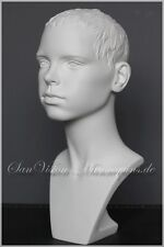 ♛ EURODISPLAY Büste Torso Kind Schaufensterpuppe Mannequin Schaufensterfigur