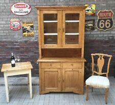 Schöner alter Weichholz Küchenschrank Büffetschrank Omas altes Küchenbüffet
