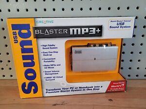 Creative Sound Blaster MP3 Plus External USB Sound System SB0270 New SEALED NEW