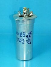 MALLORY ELECTROLYTIC CAPACITOR 290-010 20UF 450v 20UF 450V  PREMIUM TEKTRONIX