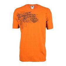 dcd3acac Black Hills Harley-Davidson® Men's Flight Antique Orange Short Sleeve T- Shirt