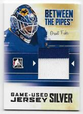 10/11 BETWEEN THE PIPES GAME JERSEY SILVER Hockey /30 (#M1-M78) U-Pick From List