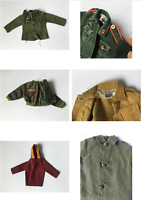 Military army uniform jacket top inc Palitoy Action Man 1:6 SELECTION ShimmyShim