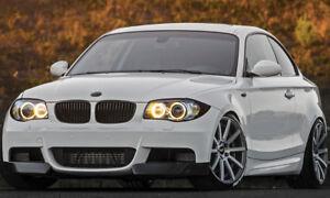 für BMW 1 series e82 88 spoiler m aileron becquet aerofolio peint alettone lèvre