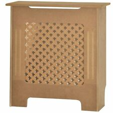 OXFORD RADIATOR COVER Small Unfinished MDF Traditional Grill Guard Cover Shelf