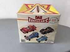 VINTAGE# 80s DAS FANTACARS FANTA CARS PLAYSETFULL#NIB NUOVO IN BOX