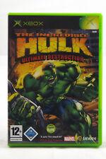 The Incredible Hulk (Microsoft Xbox) Classic Spiel in OVP, PAL, CIB, GUT