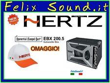 "HERTZ EBX 200.5 Subwoofer  200 mm 500w 20cm 8""  Reflex  NEW MODELLO + OMAGGIO !"