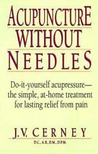 Acupuncture without Needles, , Good Condition, Book