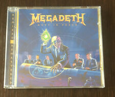 "MEGADETH  |  ""Rust In Peace"" remixed and remastered CD +4 bonsu songs"