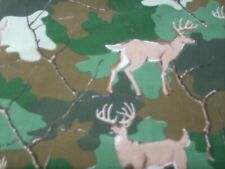 Fabric quilt  1/4 yard Deer camo