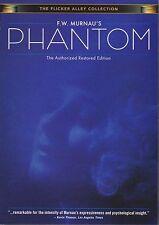 Phantom (1922) DVD Alfred Abel-Frida Richard-Aud Egede-Nissen-F.W.Murnau