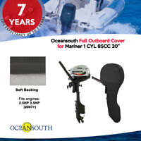 """Oceansouth Outboard Storage Full Cover Mariner 1 CYL 85CC 20"""""""