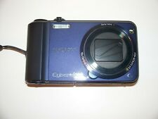 SONY CYBER-SHOT DSC-H70 DIGITAL CAMERA BLUE IN EXCELLENT CONDITION WITH CASE