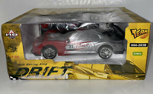 New! Drift Racing King Superior Car Triple Car Remote Control Red #31 1:24 NIB
