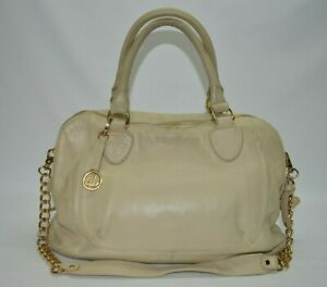 Audrey Brooke Paramount Large Satchel With Chain Strap