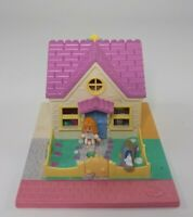 Polly Pocket 1993 Cozy Cottage House With 1 Original Doll bluebird