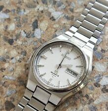 Vintage Seiko Quartz SQ 4004 4633 8019 May 1977 Textured Dial