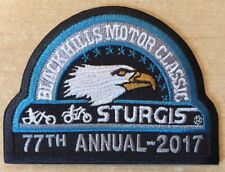 OFFICIAL STURGIS RALLY PATCH 2017 77th ANNUAL BIKER