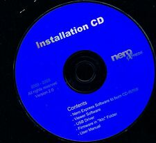 Nero Express Installation CD version 2.0 CD-R/RW