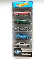 Hot Wheels 2019 FAST&FURIOUS Set 5 pack Mattel Diecast FYL16