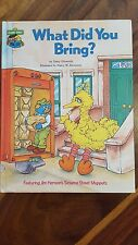 1980 sesame street what did you bring ? book