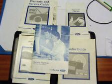 Focus 2001 Car Owner & Operator Manuals