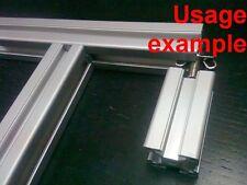 Aluminum T-slot profile slide-in End Fastener 30x30-8, 12-set