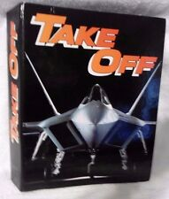 Unique TAKE OFF Magazine Collection Issues 1 thru 10 in one complete binder.