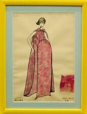 """""""Fab, Original Nina Ricci 'Petunia' 77 Watercolour Plate"""""""