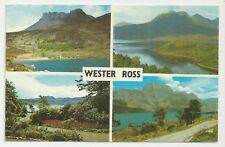 Postcard, PLC36268, Wester Ross Multiview - Posted 1971